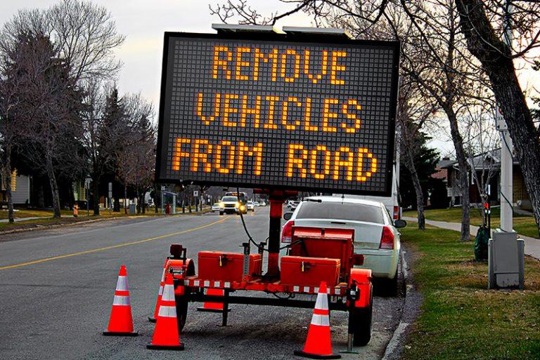 Temporary Road Signs in Miami, FL