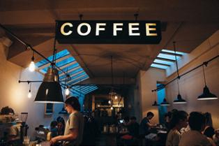 Cafe Indoor Signs Miami