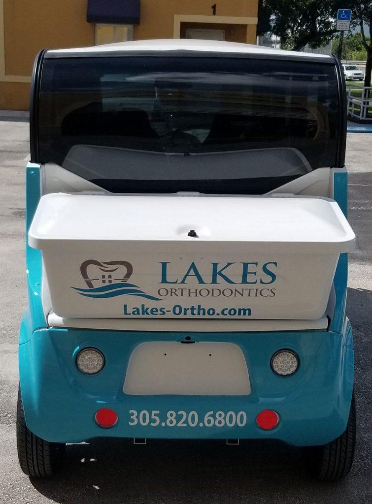 Golf Cart Vehicle Sign
