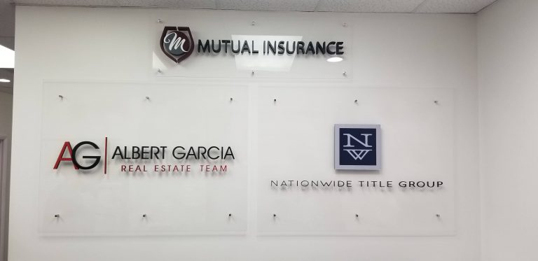 Custom Indoor Signs