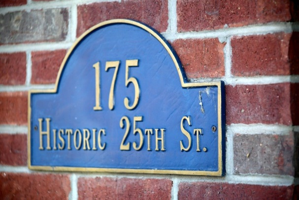 outdoor address signs