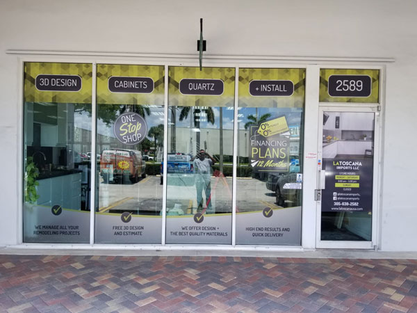 Window Graphic in Pembroke Pines, FL