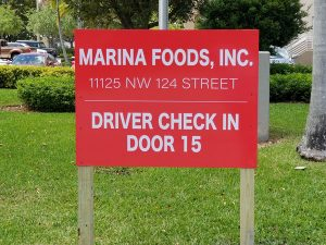 Yard Signs in Pembroke Pines, FL