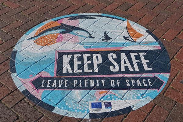 Keep Safe Floor Graphics in Miami, FL