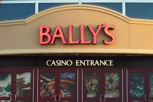 Bally's Outdoor Building Signs Custom Made by Miami Signs & Wraps