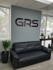 Lobby Signs for GRS in Miami, FL