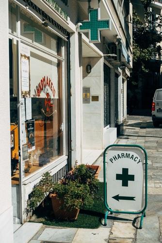 Directional Sidewalk Business Signs